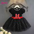 2016 Summer Baby Girls Dress Minnie Mouse Dresses For Girls Princess Minnie Dress Birthday Party Children Clothes Kids Costume