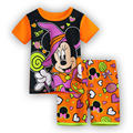 Novo Estilo! Batman Pijamas das crianças Minnie Verão Curto-de mangas compridas Crianças Pijamas Mickey Meninos Meninas Pijamas Bebê Travessas Sleepwear