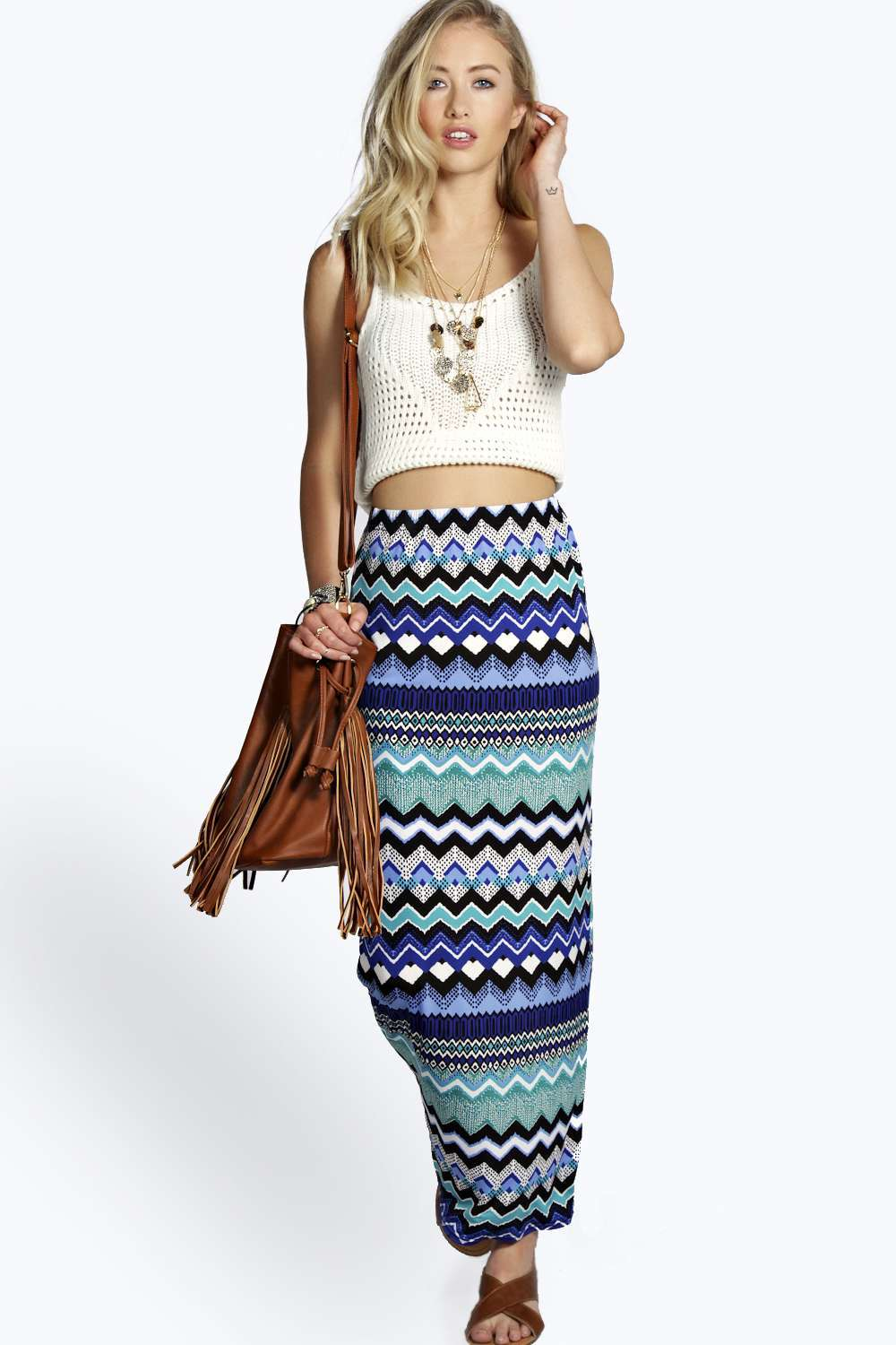 Online Buy Wholesale striped knit maxi skirt from China striped ...