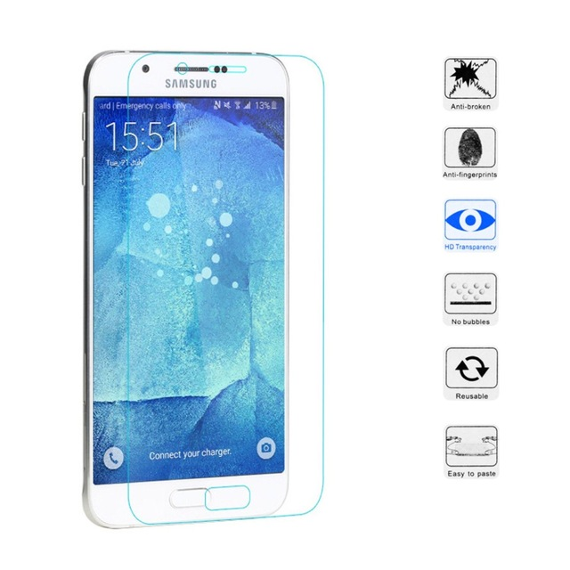 Tempered Glass for Samsung Galaxy On 7 On7 G6000 G600FY 2.5D Arc Edge Round Border Front for Samsung  On7 Screen Protector Film