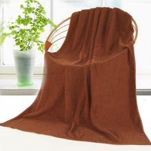 Microfiber bath towel 80*180 large does not lint, faded