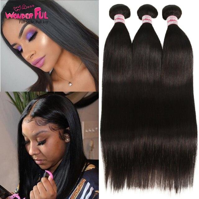 Paquetes de pelo indio al por mayor extensión de Cabello 100% paquetes de cabello humano tejidos baratos con paquetes de 8 a 28 30 pulgadas