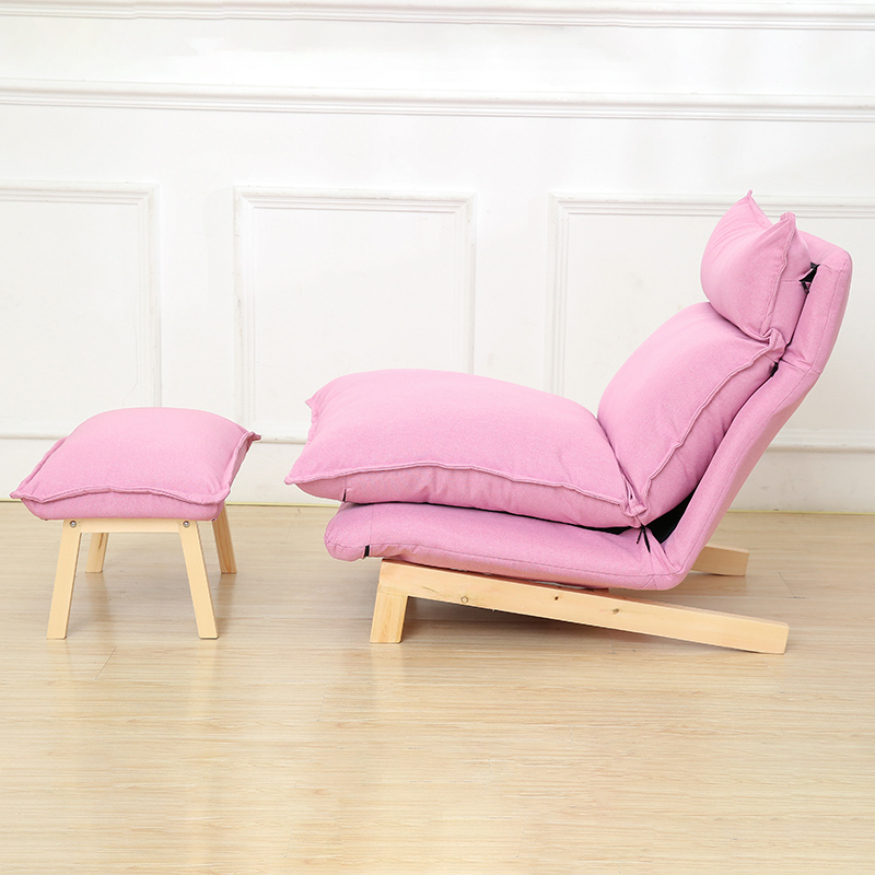 Contemporary Folding Lazy Sofa Chair Japanese Style Foldable Sofa ...