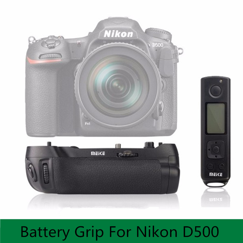 Meike MK D500 Pro Battery Grip Built in 2 4GHZ FSK With Remote Control Shooting for