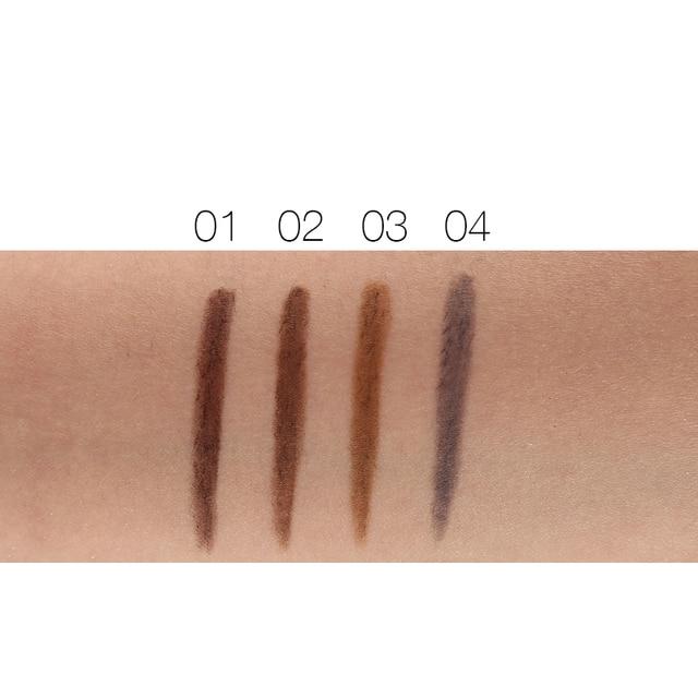 3pcs/lot NOVO Brow Makeup Set Eyebrow Pen + Refill + Eyebrow Stencils 4 Color Optional Long Lasting Eye Brow Pencil 5