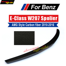 E class W207 High-quality carbon fiber rear bumper trunk spoiler wings for mercedes Benz AMG Style 2010-16 coupe e250 e200 e300