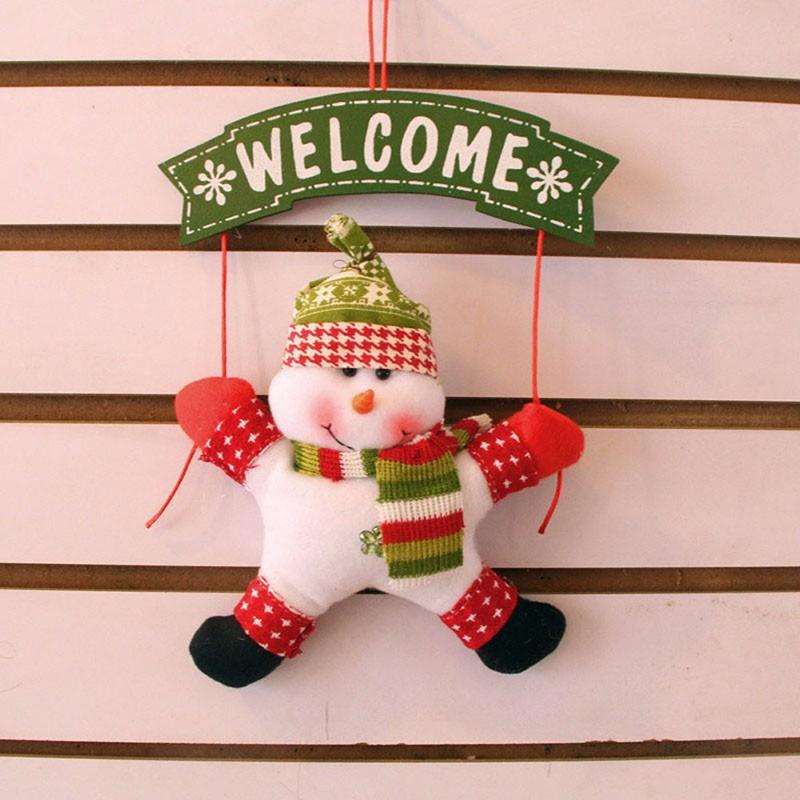 Decor Ornament Santa Gift 6