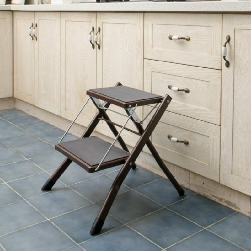 15% Kreative Folding Einfache Schritt Hocker Küche Bench Tragbare Hocker Hause Bench Erhöhen Hocker Dauerhaft Im Einsatz