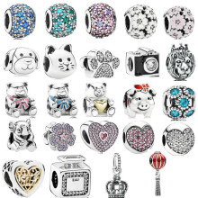 c9cb86a21 Christmas Polar Bear Best Friend Baby Boy & Girl Teddy Bear Charms Fit Pandora  Bracelet 925