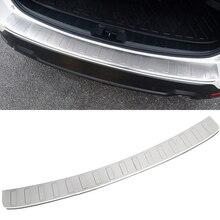Для Subaru Forester SK 2019 нержавеющая сталь внешний задний бампер Защита Чехол плиты отделка 1 шт. автомобиля Средства для укладки волос