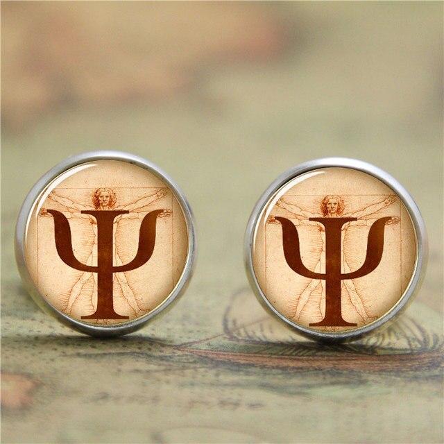 10pairslot Psi Symbol Earring Da Vincis Golden Section Earring