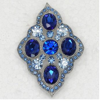 12pcs Wholesale Fashion Brooch Rhinestone Flower Apparel Pin brooches Jewelry Gift C101801