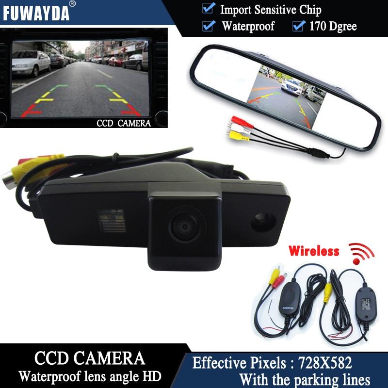 Waterproof Car Rear View Reversing Camera Back Up Camera for Toyota Highlander