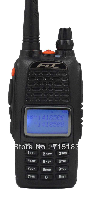 bilder für Neue Dualband Radio FEIDAXIN FDC FD-880 136-174 & 400-480 Mhz funkgeräte walkie talkie FD880 beste für hotel, SCHINKEN, sicherheits verwendung