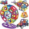 140pcs-32pcs Big size magnetic building blocks Ferris wheel Brick designer Enlighten Bricks magnetic toys Children's