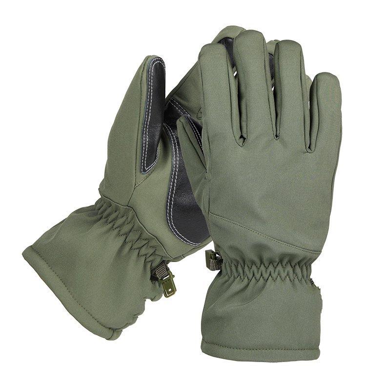 ФОТО Shark skin soft shell plus velvety thick anti - splashing water skiing sports riding gloves