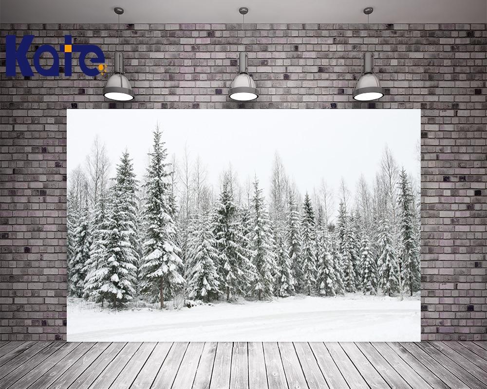 цены Photography Kate Digital Printging Backgrounds Spectacular Cedar Forest Frozen Snow Winter Kate Background Backdrop
