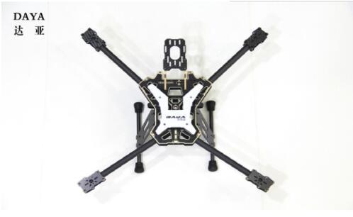 DAYA 550 daya550 daya 550 550 millimetri Alien In Fibra di Carbonio Pieghevole 4 Assi FPV Quadcopter Kit Telaio-in Componenti e accessori da Giocattoli e hobby su  Gruppo 1