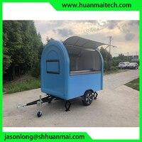 Трейлер для перевозки продуктов фургон для еды мобильный магазин телешка для закусочных Таиланд мороженое в рулетах т