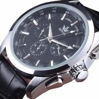 SEWOR Luxury Watch Men Multi Function Military Clock Auto Date Calendar Leather Strap Business Automatic Mechanical Wristwatches