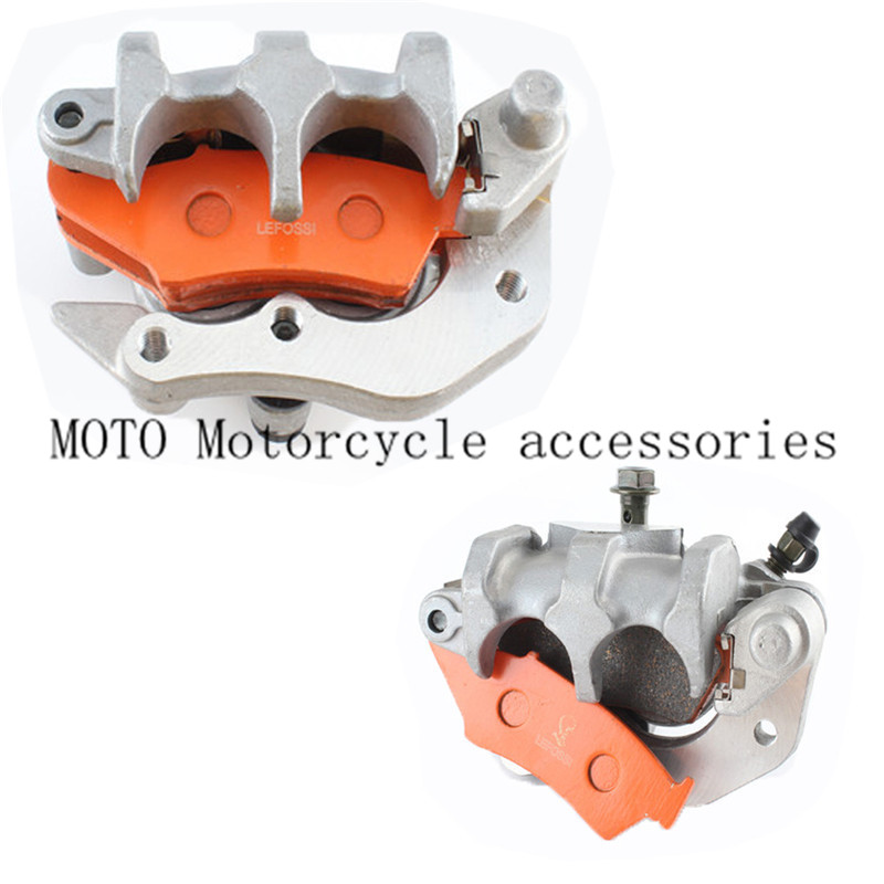 Front Disc Disk Brake Pump Caliper For Honda CR125 CR250 CRF250 CRF450 X/R Brake Caliper with carbon fiber Pads Motor Parts