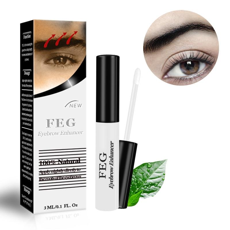 FEG Eyebrow Enhancer  3ml Original Rising Eyebrows Growth Serum Kareprost Makeup Longer NEW 100% Natural