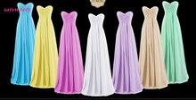 Satsweety Cheap Long Chiffon 20 Colors Bridesmaid Dresses 2019 A-Line Vestido De Festa Casamen Formal Party Prom