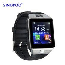 Sinopooสวมใส่อุปกรณ์dz09 smart watchอิเล็กทรอนิกส์นาฬิกาข้อมือสำหรับxiaomi huaweiโทรศัพท์androidมาร์ทโฟนสุขภาพsmartwatches