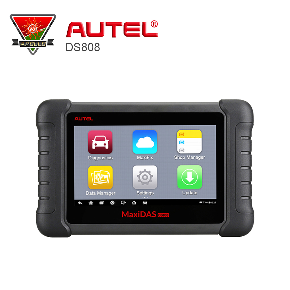 AUTEL MaxiSYS DS808 Better Than AUTEL MaxiDas Maxisys DS708 Diagnostic System With DS808 OBDI Connector autel maxidas ds808 auto diangostic tool perfect replacement of autel ds708