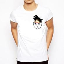 Dragon Ball T Shirt Men Summer Dragon Ball Z super son goku Slim Fit Cosplay 3D T-Shirts Casual vegeta DragonBall Tshirt Homme