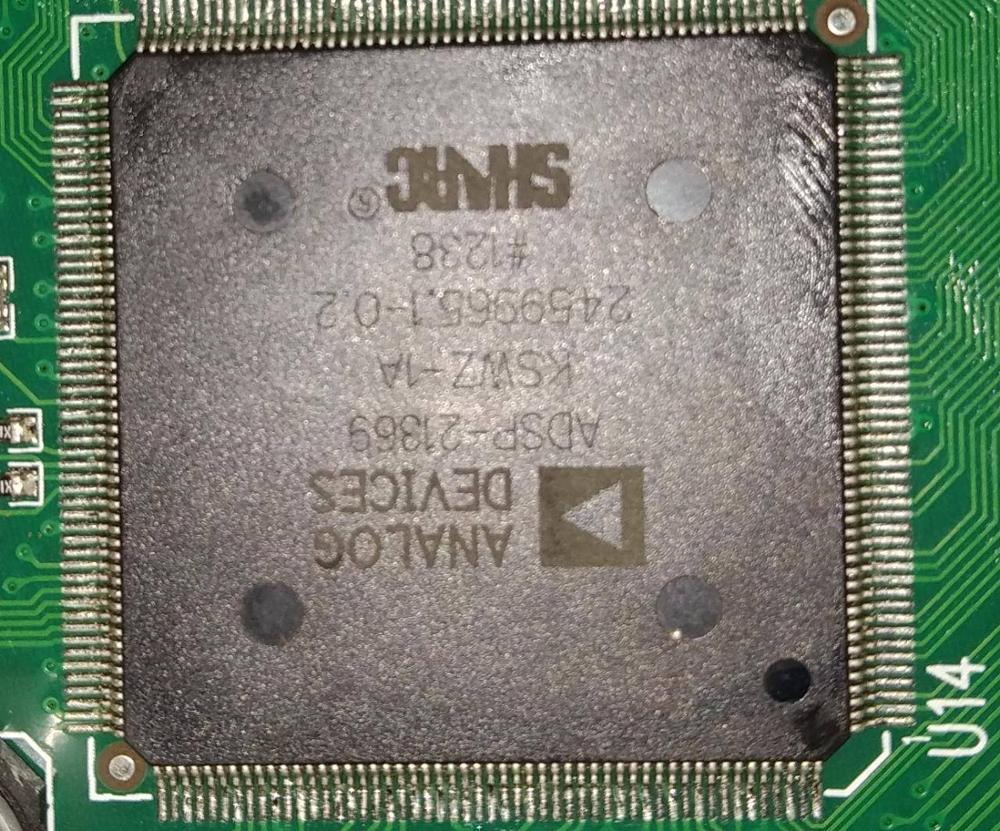 ADSP-21369KSWZ-1A LQFP208 DSP Digital Signal Processor