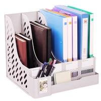 Офисный стол Файл Организатор документ Держатель A4 поле подачи Многофункциональный пластиковая папка-файл Организатор