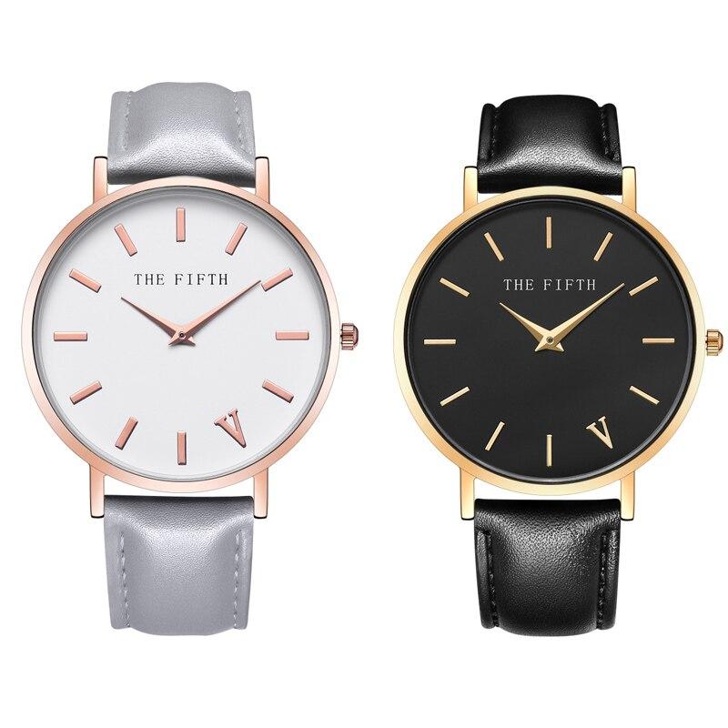 Eenvoudige stijl heren vrouwen quartz horloge 2017 topmerk mode horloge mannen polshorloge relogio masculino mode casual wa