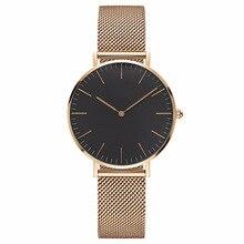 Супер простые женские часы модный нейлоновый ремень стиль дамские Drees часы Лидирующий бренд кварцевые наручные часы дропшиппинг часы унисекс