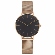 Super Simple Women Watches Fashion Nylon Belt Style Ladies Drees Watch Top Brand Quartz Wrist Dropshipping Unisex Clock