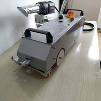 hdpe pipe / flex banner hot air welding machine for sale