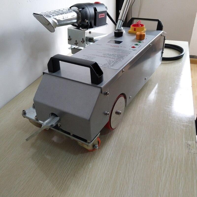 Machine de soudure d'air chaud de bannière de tuyau de hdpe/flex à vendre