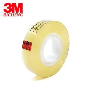 3M Scotch 665 постоянная прозрачная двухсторонняя лента 12,7 мм * 22,8 м, для офиса OA, художественное оформление пленки, печатная плата