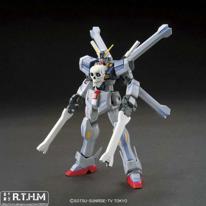 Gundam Build Fighter Bandai HGBF 1/144 014 Crossbone Gundam Maoh Plastic Model Assembled model встраиваемый светильник feron dl246 17900