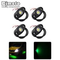 Bjmoto Under Body Light 9w Lamp LED Rock Light SUV ATV Car Decorative Rock Light For