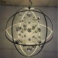 Подвесная лампа  светодиодная  из металла  для отеля  Galaxy