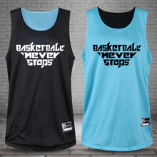 Men Reversible Basketball Set Custom Boy Double Suit Jersey Wear Basketball Clothing BreathableTraining Game Shorts Quick