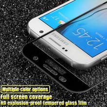 IMAK для Samsung Galaxy A5 Стекло Закаленное Стекло-Экран Протектор полный Чехол для Samsung Galaxy A5 A520F 2017 Закаленное Стекло фильм