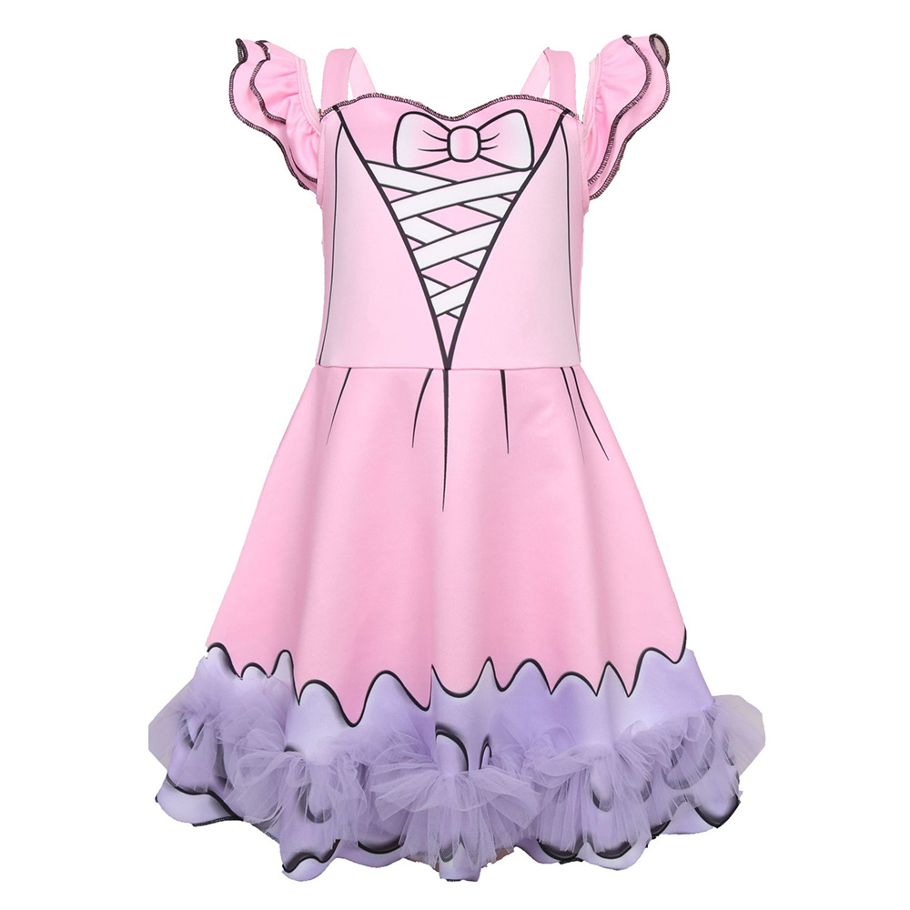 2019 New Dolls Cosplay Costume Baby Little Girls Cute Summer Dress Princess Children Cartoon Halloween Christmas Party Dresses in Girls Costumes from Novelty Special Use