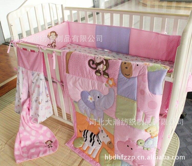 Compare Prices On Zebra Crib Set Online ShoppingBuy Low Price - Baby girl zebra crib bedding sets