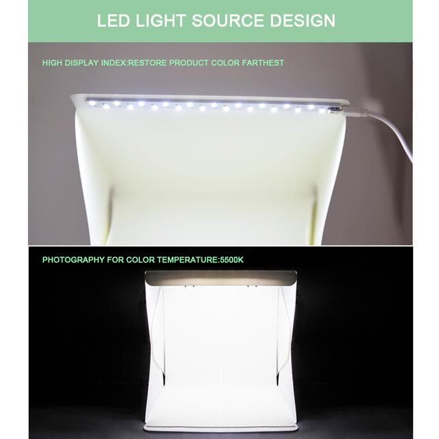 Studio Perfect LightBox Shooting Kit with LED