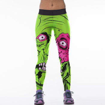 2016 Hot Sale Sexy Women Sporting Leggings Fitness Workout Trousers 22 Styles 3D Print Elastic Slim Jeggings Leggins Leggigns Лосины