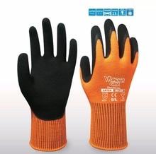 Outdoor 13 Guage Acrylic With Foam Latex Dipped Warm Winter Work Gloves цена в Москве и Питере
