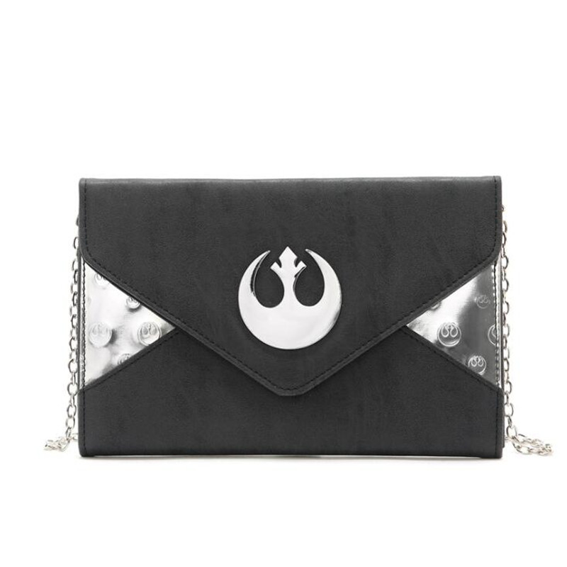 Hot New Movie Star Wars Lady Satchel Cosplay Costumes Chain Bag Handbag Cartoon Fashion Fancy Messenger Envelope Bag Gift