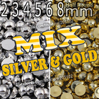 Mix Colors Sizes Sil...